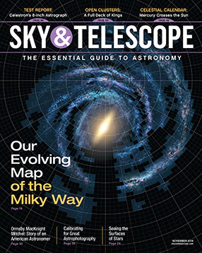 Sky & Telescope Magazine Cover
